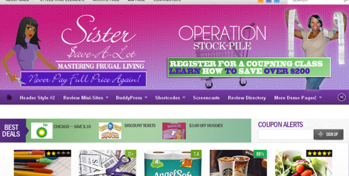 Blog Marketing and Branding – Sister Save A Lot – Couponing