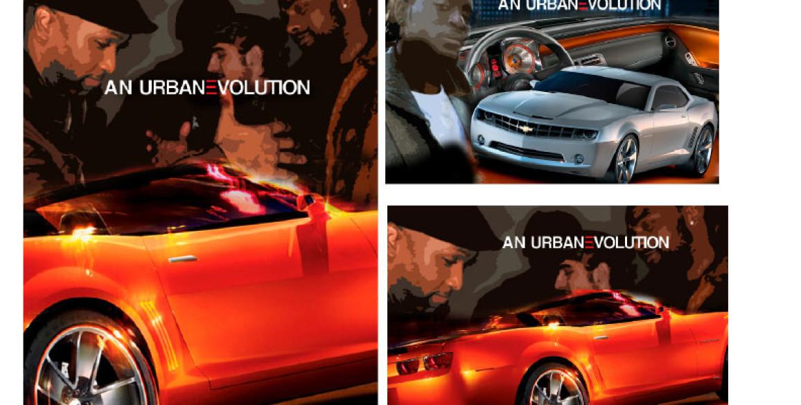 Chevy Automobile Urban Marketing